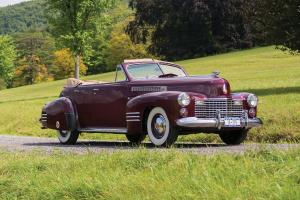 Cadillac Series 62 Convertible Sedan 1941 года